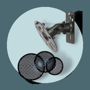 Oprema za zvučnike